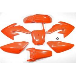 Plastiki CRF70 style (pomarańczowe)
