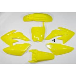Plastiki CRF70 style (żółte)