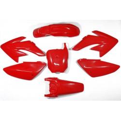 Plastiki CRF70 style (czerwone)