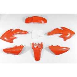 Plastiki CRF50 style (pomarańczowe)
