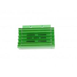 Chłodnica oleju / radiator (zielona) z przewodami