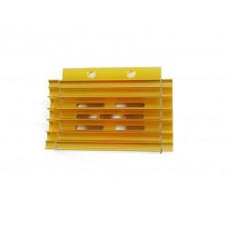 Chłodnica oleju / radiator  (złota) z przewodami