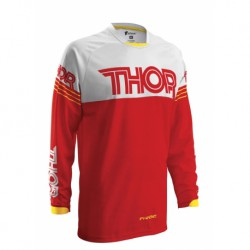 BLUZA THOR S16Y PHASE HYPERION RED YOUTH S