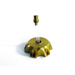 Korek zbiornika paliwa + odpowietrznik (złoty)