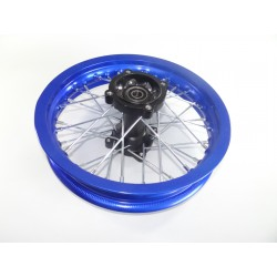 Felga 12 tył 1.85x12' /aluminiowa niebieska/