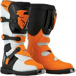 Buty Thor Blitz MX WHITE/ORANGE SENIOR