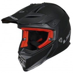 Kask LS2 MX437 FAST MONO MATT BLACK L