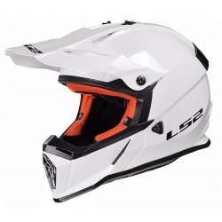 Kask LS2 MX437J FAST SOLID WHITE L