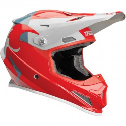KASK THOR S9 SECTOR SHEAR RED/LIGHT GRAY SENIOR