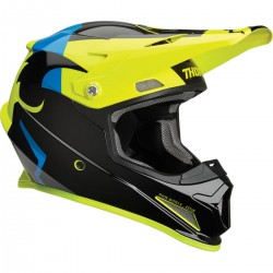 KASK THOR S9 SECTOR SHEAR YELLOW/BLACK SENIOR