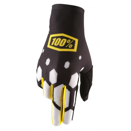Rękawice 100% CELIUM BLACK