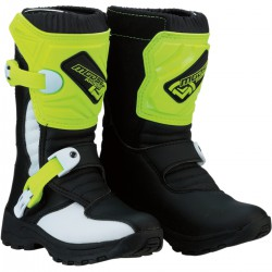 BUTY MOOSE RACING 1.3 BLACK/GREEN JUNIOR
