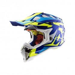 Kask LS2 MX 470 SUBVERTER NIMBLE white/blue/yellow