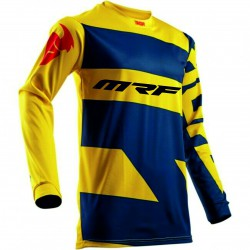 BLUZA THOR MRF PULSE S18 LEVEL YELLOW/NAVY