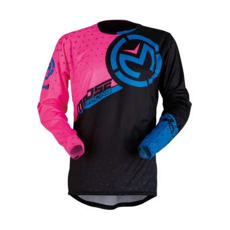 BLUZA MOOSE RACING PINK / BLACK / BLUE M1 JERSEY