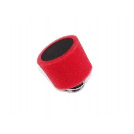 Filtr powietrza 38mm prosty czerwony