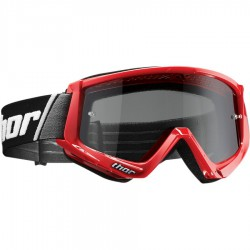 Thor goggle combat sand offroad red/black