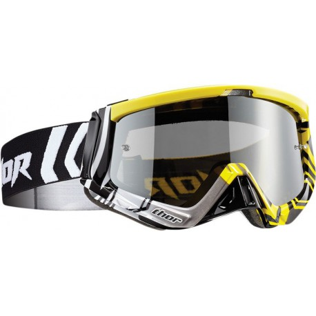 Gogle THOR SNIPER GEO Yellow/Black