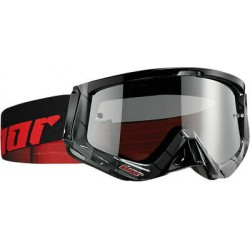 Gogle THOR Sniper Black/Red