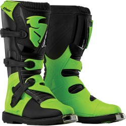 Buty Thor BLITZ MX BLACK/GREEN JUNIOR