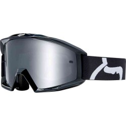 GOGLE FOX JUNIOR MAIN RACE BLACK CLEAR LENS