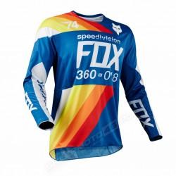 BLUZA FOX 360 DRAFTR BLUE