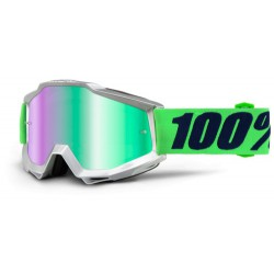 Gogle 100% ACCURI NOVA MIRROR GREEN LENS