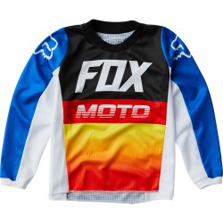 BLUZA FOX 180 FYCE BLUE/RED JUNIOR