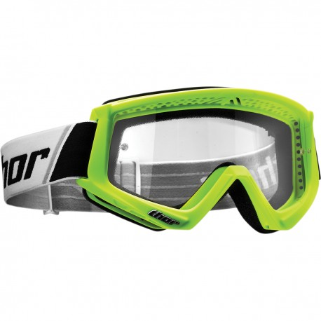 GOGLE THOR Combat Fluo Green
