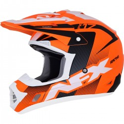 Kask AFX FX-17  MATTE NEON ORANGE/BLACK/WHITE