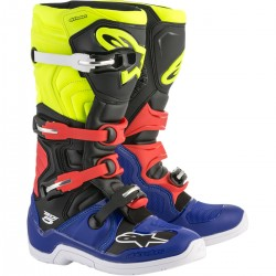 BUTY ALPINESTARS TECH 5 BLUE/BLACK/YELLOW/RED