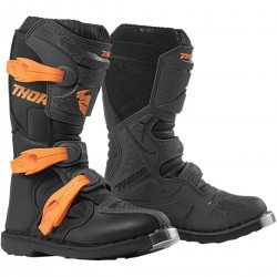 BUTY  THOR YOUTH BLITZ XP S9Y  CHARCOAL/ORANGE