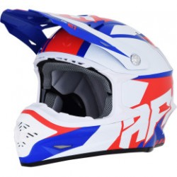Kask FX-21 PINNED RED/WHITE/BLUE