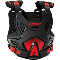 Buzer THOR SENTINEL  S16 ROOST DEFLECTOR BLACK/RED