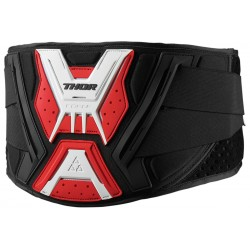 Pas nerkowy THOR FORCE BELT Black/Red/White