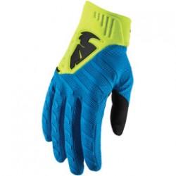 Rękawice THOR REBOUND S9   ELECTRIC BLUE/ACID