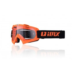 Gogle   iMX Racing Mud Orange Matt z Szybą Clear