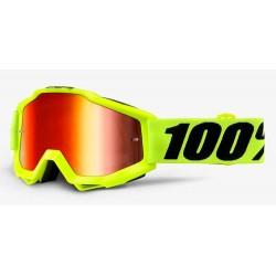 Gogle 100% AC  YTH FLO MIR RD