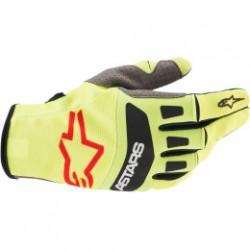 Rękawice  ALPINESTARS T-STAR YL/BLK/RD