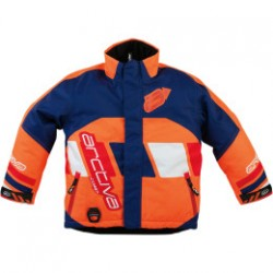 Kurtka ARCTIVA YOUTH COMP S7 INSULATED NAVY/ORANGE 14