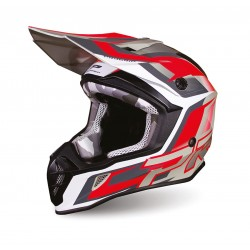 KASK PROGRIP 3180 GREY/RED