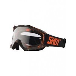 GOGLE SHOT RACING  ASSAULT DROP NEON ORANGE MATT