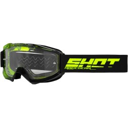GOGLE SHOT ASSAULT ELITE BLACK NEON YELLOW GLOSSY