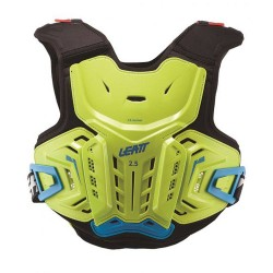 Buzer Leatt  CHEST PROTECTOR 2.5 JUNIOR LIME/BLUE