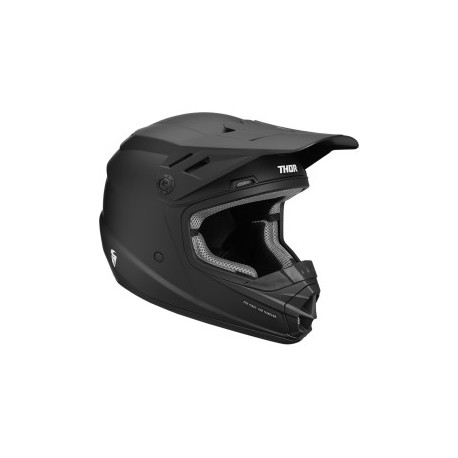 Kask  THOR YOUTH SECTOR™ S9Y BLACK MATTE