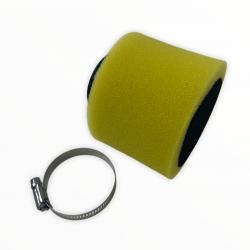 Filtr powietrza 38mm prosty (żółty)