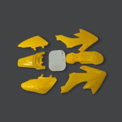 Plastiki CRF50 style (żółte)