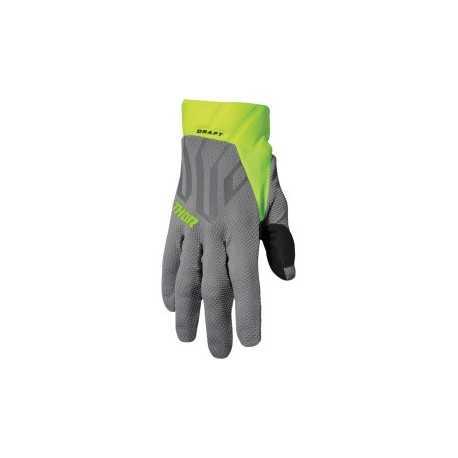 Rękawice  THOR DRAFT GRAY/ACID