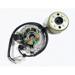 Stator 6 cewek + lekkie magneto ZS155 YX170