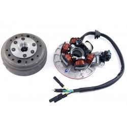 Stator i magneto 12V ( 6 cewek )